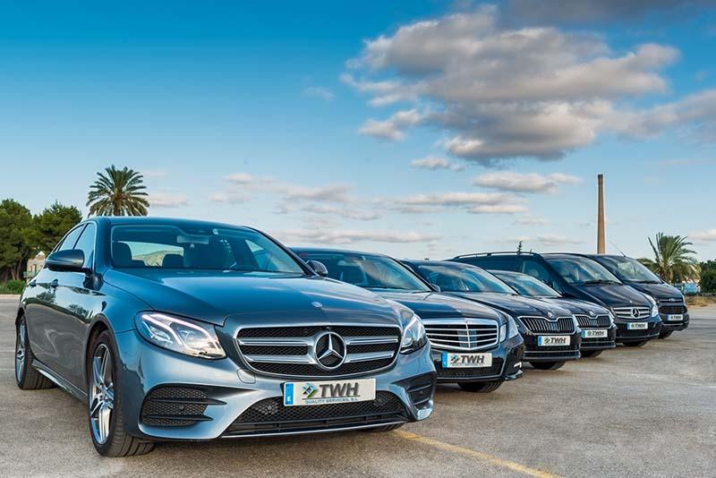 Alquiler de vehiculos con conductor Murcia y Alicante